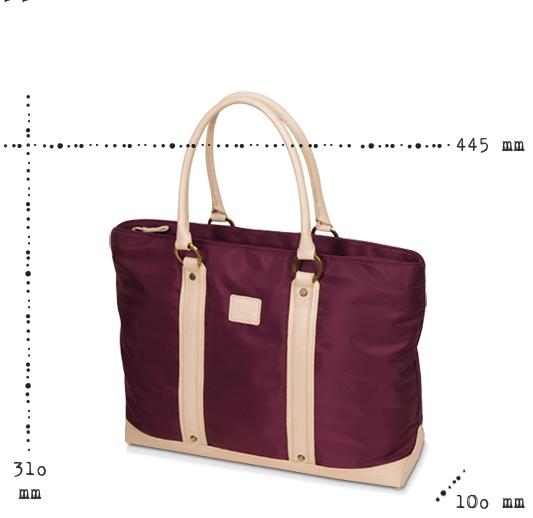 [miim] [MT4370] Bliss 여성용노트북가방/15.6인치/바이올렛/ 타블렛수납/최고급 twill원단사용
