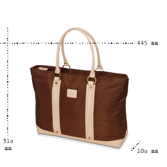 [miim] [MT4370B] Bliss 여성용노트북가방/15.6인치/브라운/ 타블렛수납/최고급 twill원단사용