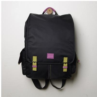 [miim] [MP4085] Blance backpack 노트북백팩/15.6인치/스마트한 디자인 블랙컬러