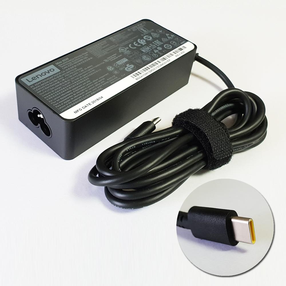 레노버정품 [ C타입 노트북 충전기 ] 20V 3.25A / 15V 3A / 9V 2A / 5V 2A C타입 스마트폰 지원