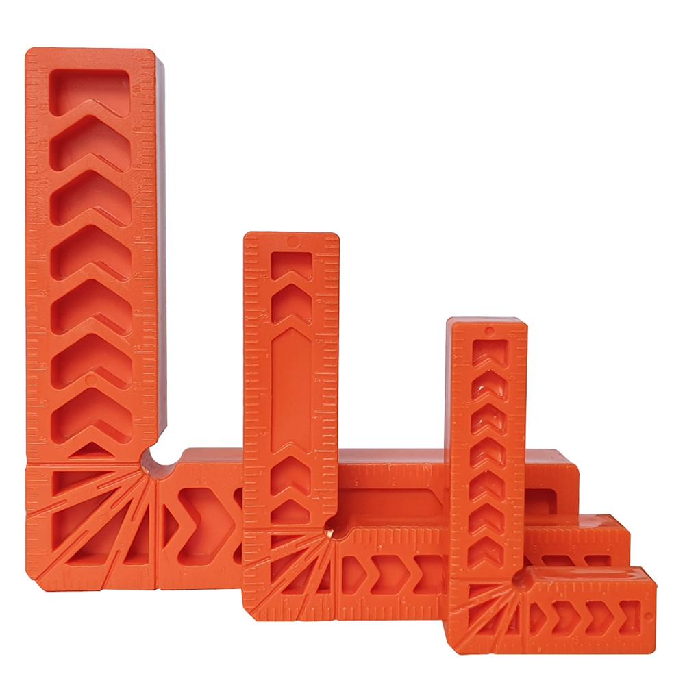 미스터죠 강화플라스틱 직각발 직각지그 3인치 4인치 6인치 90도 수직 직각 클램프 지그 (L-HT116)