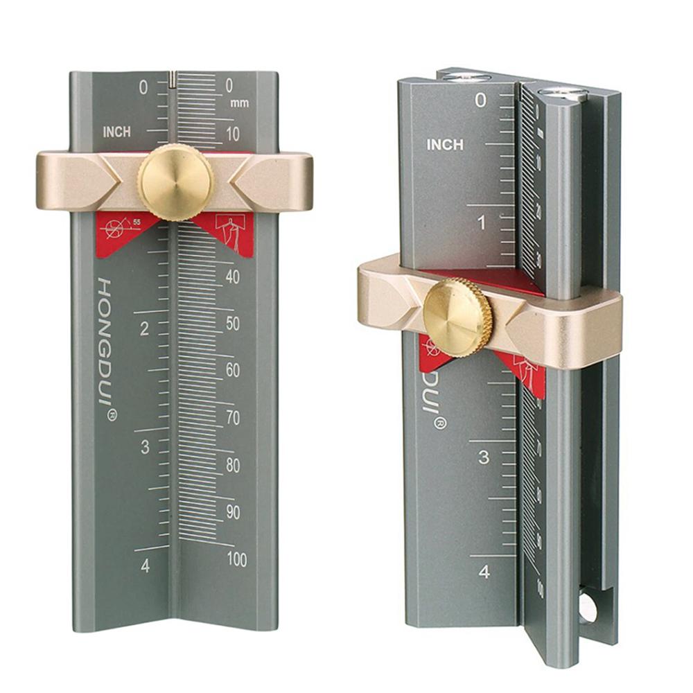 미스터죠 목공용 드릴 톱날깊이 라우터비트 테이블쏘 높이 측정 게이지 Hongdui 정품 (MR-HD118)
